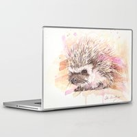 """sonic Laptop & iPad Skins featuring """"Sonic"""" by PaintedBunting"""