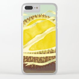 Durian Clear iPhone Case
