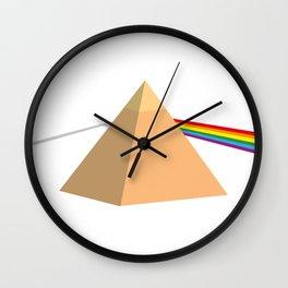 Pyramid Floyd Wall Clock