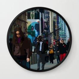 Populous Wall Clock