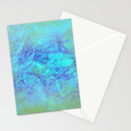 Microcosmos of Chaos (Blue Version) Stationery Cards
