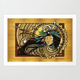 La'amaomao: Urban Indigenous Version Art Print