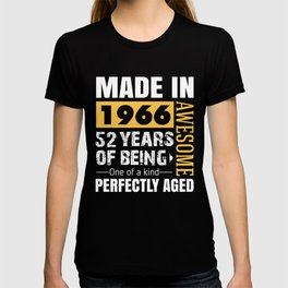 Made in 1966 - Perfectly aged T-shirt