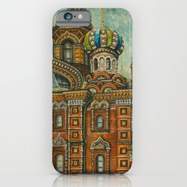 Russian Spirit iPhone Case