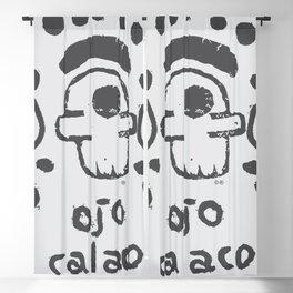 ojo calaco 2 Blackout Curtain