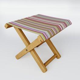 Stripes & stripes Folding Stool