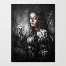 Northern Wolf Canvas Print