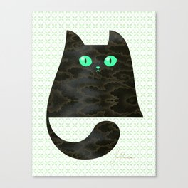 Cloud Kitty Canvas Print