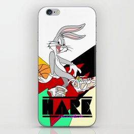 HARE JORDAN iPhone Skin