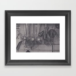The Kitchen... Framed Art Print