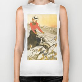 "Théophile Steinlen ""Motocycles Comiot"" Biker Tank"