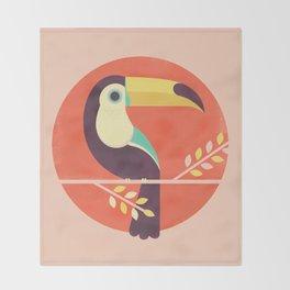 Toucan Throw Blanket