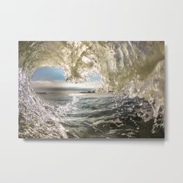 A Glowing Purity Metal Print