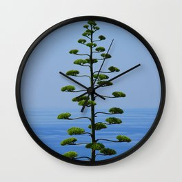 Pine Tree Before the Sea Wall Clock