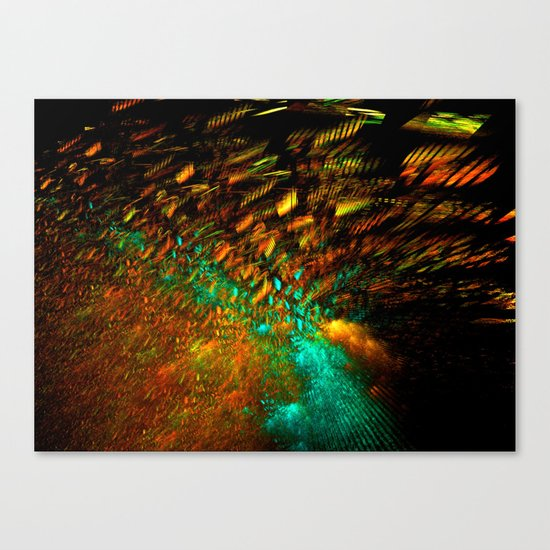 Festive Lights Canvas Print