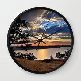 Hensley Lake Wall Clock