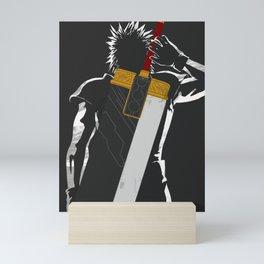 Zack Fair sword Mini Art Print