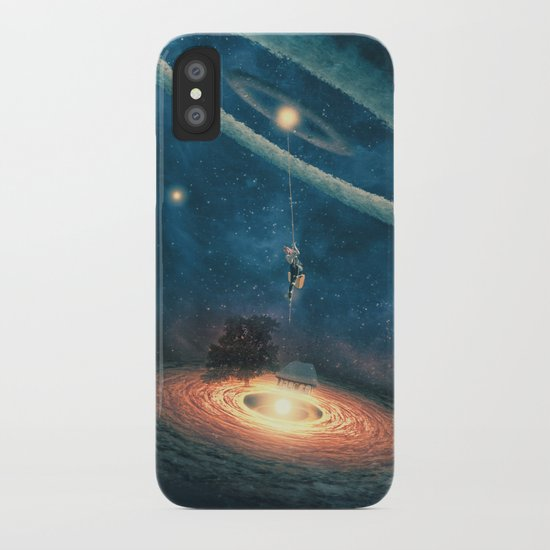 My dream house is in another galaxy iPhone Case
