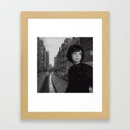 Shibuya River Framed Art Print