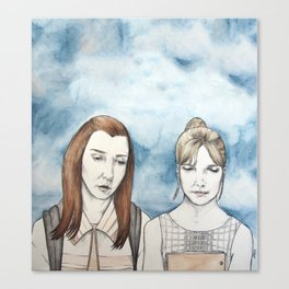 Willow and Buffy The Vampire Slayer Canvas Print