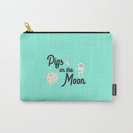 Pigs on the Moon T-Shirt for all Ages Dky06 Carry-All Pouch