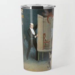 Vintage poster - Kellar the Magician Travel Mug