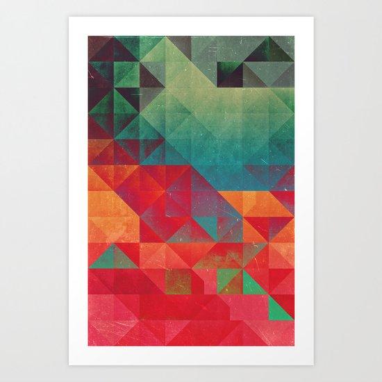 myssyng pyyce Art Print