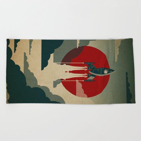 The Voyage Beach Towel