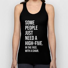 Need A High-Five Funny Quote Unisex Tank Top