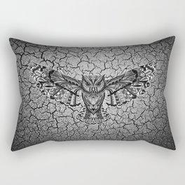 Owl Pattern Rectangular Pillow