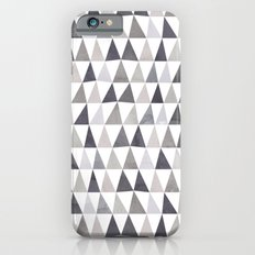 Muted Triangles Imperfect Geometry iPhone 6s Slim Case