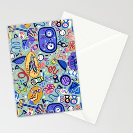 Exercise Fun! Stationery Cards