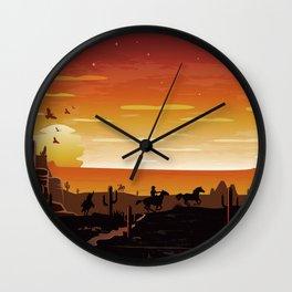 Home on the Range Wall Clock
