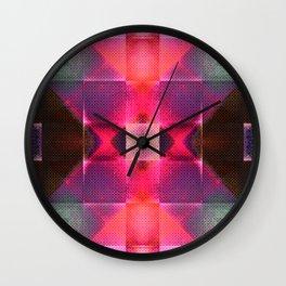 CHECKED DESIGN III Wall Clock