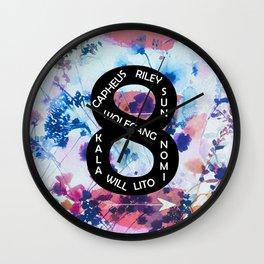 sense 8  Wall Clock