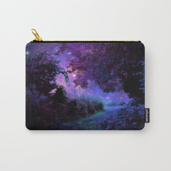 Fantasy Path Purple Carry-All Pouch
