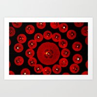 lanterns Art Prints featuring Lanterns by StanleyStudio