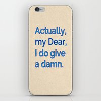 Actually, My Dear iPhone & iPod Skin