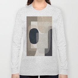 Abstract Geometric Art 52 Long Sleeve T-shirt