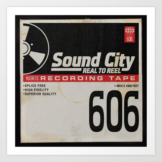 Sound City Art Print