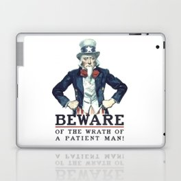 Beware Of The Wrath Of A Patient Man Uncle Sam Laptop & iPad Skin