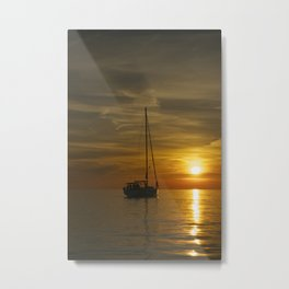 Croatian Sunset Metal Print