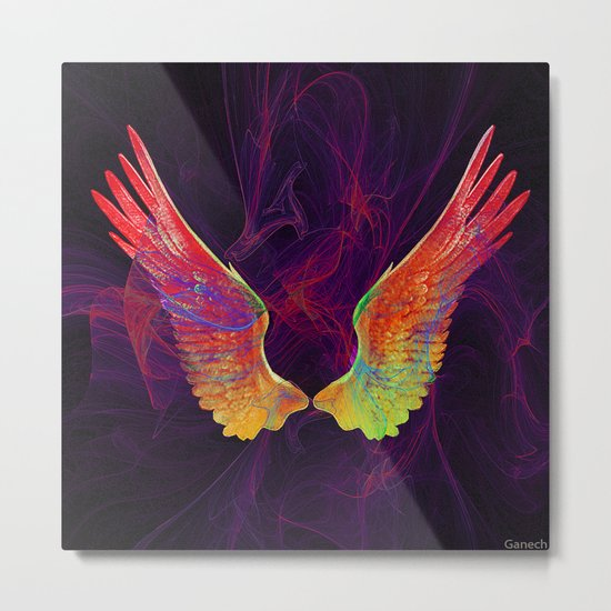Angel's wings Metal Print