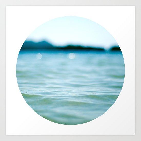 Nautical Porthole Study No.4 Art Print