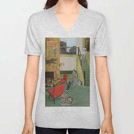 (Acting Like) Some Kind Of Fifties Housewife I Unisex V-Neck