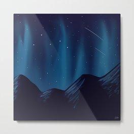 Meteorite Mountain 2 Metal Print