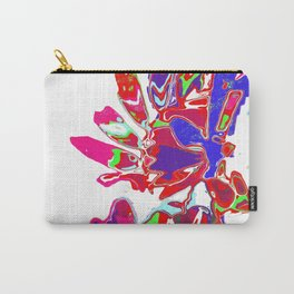 Red Blue Design Carry-All Pouch