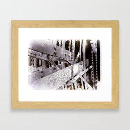 Gears Framed Art Print