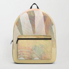 Healing Hands Yellow Backpack