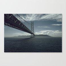 Bridge theory Canvas Print